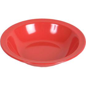 Waca Plate melamina, hondo, red